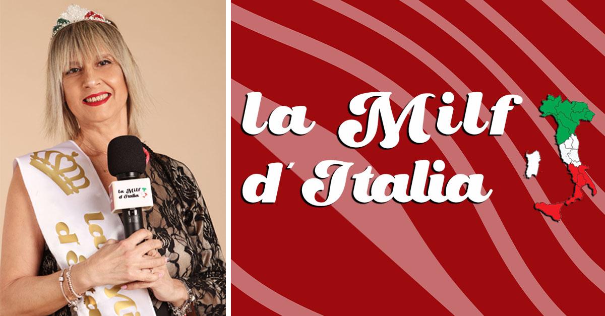 """Anna Focone: """"sono cinquanta le Milf iscritte nel progetto La Milf d'Italia"""".."""